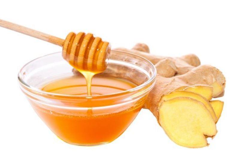 gừng pha mật ong có tác dụng gì